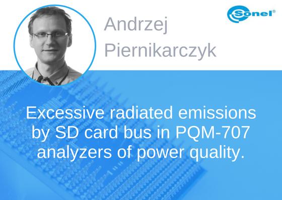 Prelegent konferencji EMC - Andrzej Piernikarczyk