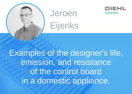 Prelegent konferencji EMC - Jeroen Eijeriks