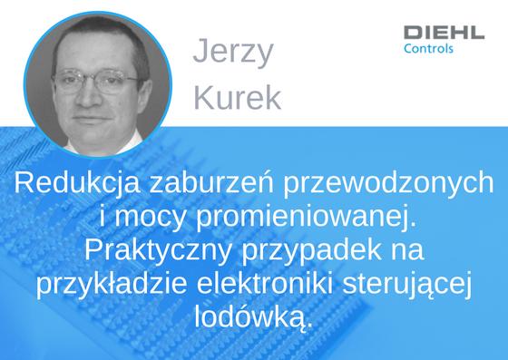 Prelegent konferencji EMC - Jerzy Kurek