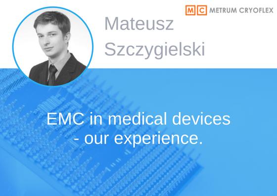 Prelegent konferencji EMC - Mateusz Szczygielski