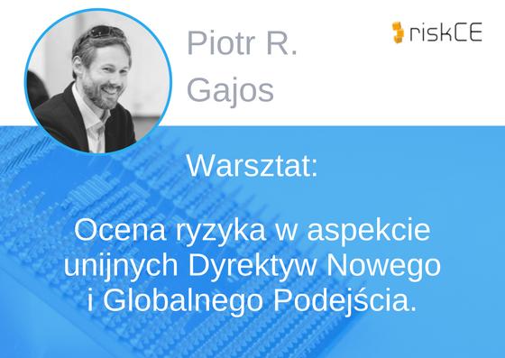 Prelegent konferencji EMC - Piotr Gajos