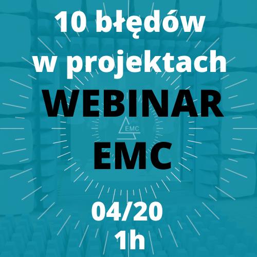 webinar emc - 10 błęów w projektach