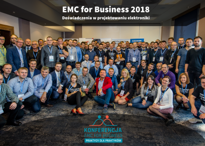 Konferencja EMC for Business 2018