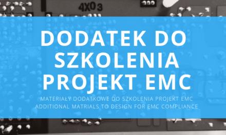 Materiały dodatkowe do szkolenia – Projekt EMC