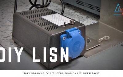 Sieć sztuczna LISN – zrób to sam – weryfikacja