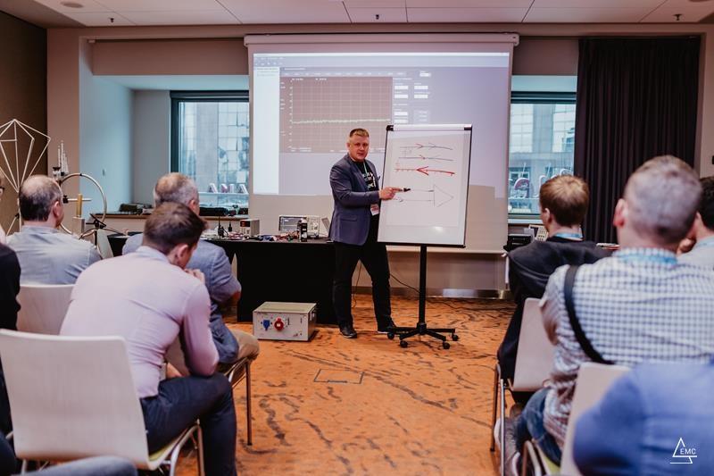 Badania EMC – testy wstępne, podejście pre-compliance, DIY, zrób to sam, namierzanie problemów. Warsztat w ramach Konferencji EMC for Business 2019.
