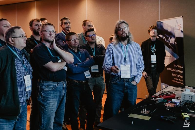 Projektowanie elektroniki pod kątem EMC – przykłady, pomiary. Warsztat w ramach Konferencji EMC for Business 2019.