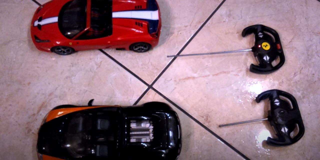 EMC miniCase – Zdalne sterowane samochody