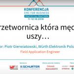 Indukcyjność w przetwornicy DC/DC – Piotr Gierwiatowski – Würth Elektronik